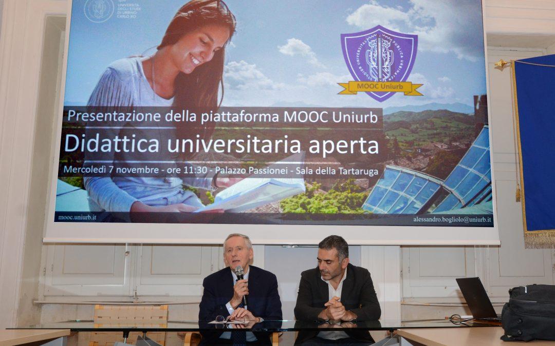 Presentazione ufficiale di MOOC Uniurb